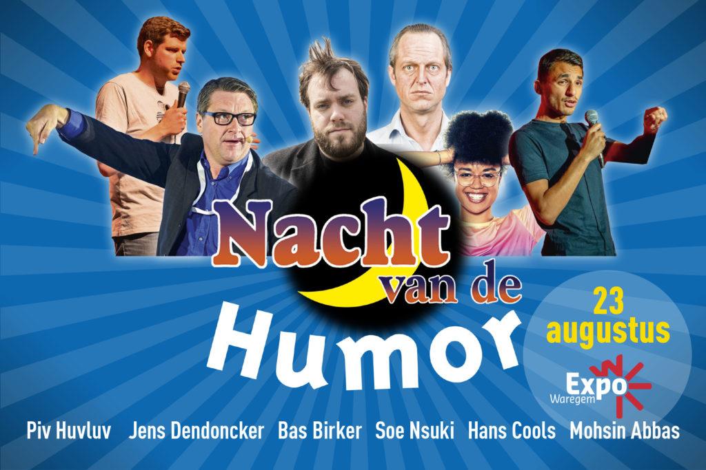 De Nacht van de Humor presenteert…