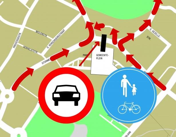 Gewijzigde verkeerssituatie centrum Waregem